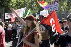 Manifestación 15-S Bloque Crítico (Madrid, 15 de Septiembre de 2012)