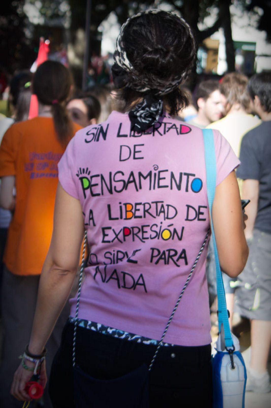 Crónica y fotos de la manifestación estatal de 15 de septiembre