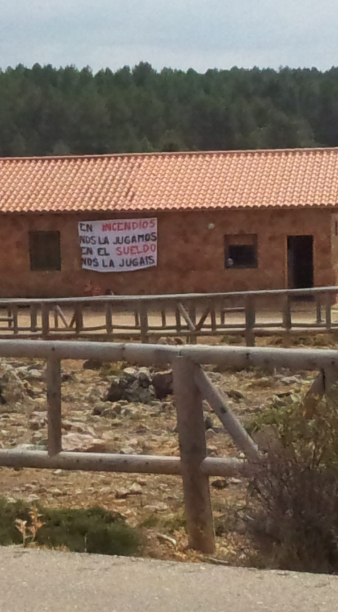 CGT TRAGSA denuncia la precariedad de l@s trabajadores BRIF (Brigadas de Refuerzo de Incendios Forestales)