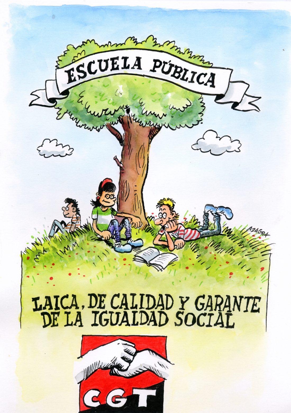 Comunicado del sindicato de enseñanza de CGT Madrid para el principio de curso 2012-2013