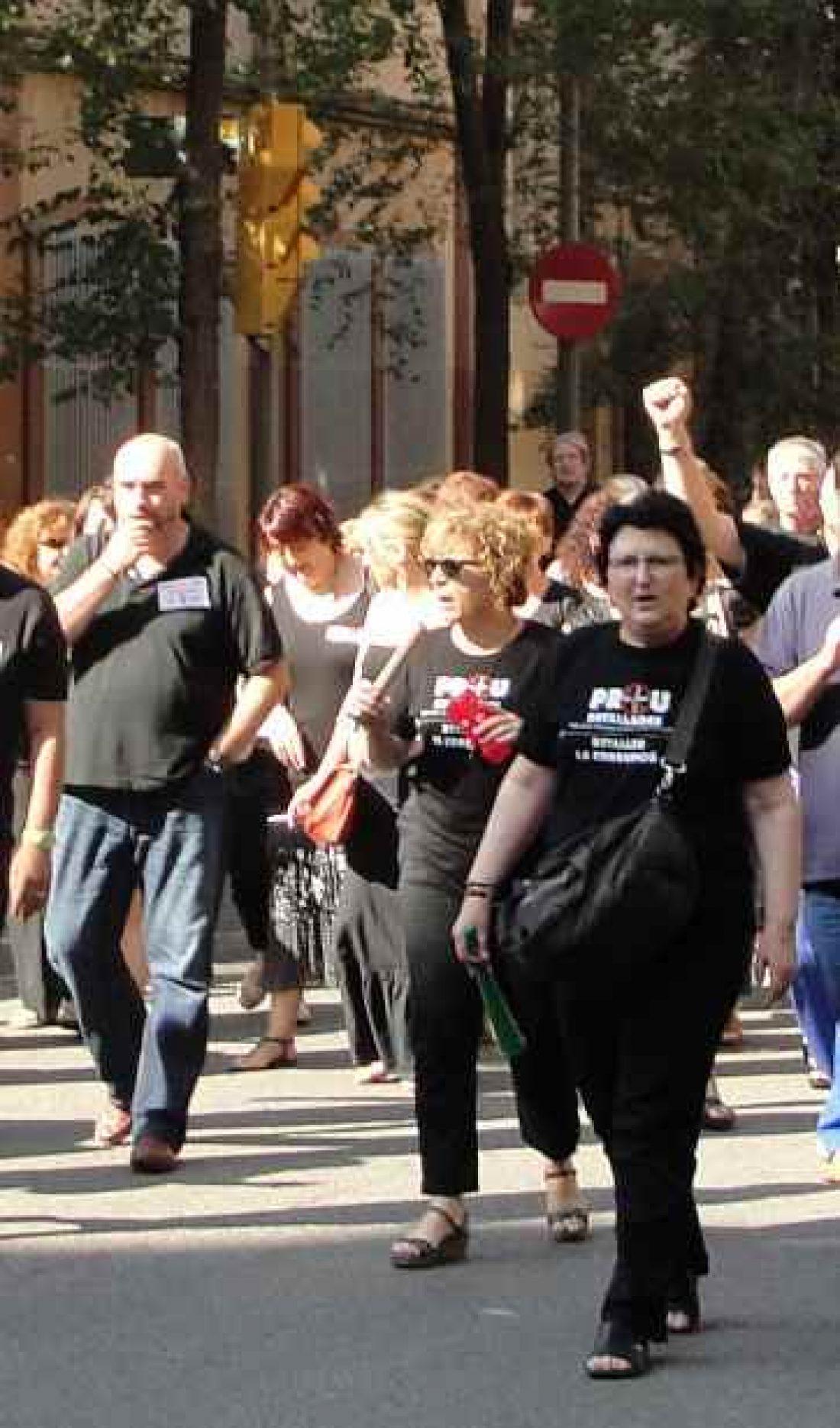 Realizados cortes de tráfico y concentraciones el  viernes 7 de septiembre en diversos lugares  de  Barcelona y l´Hospitalet.