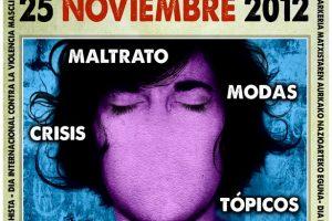 25 de noviembre: Día Internacional contra la Violencia Machista