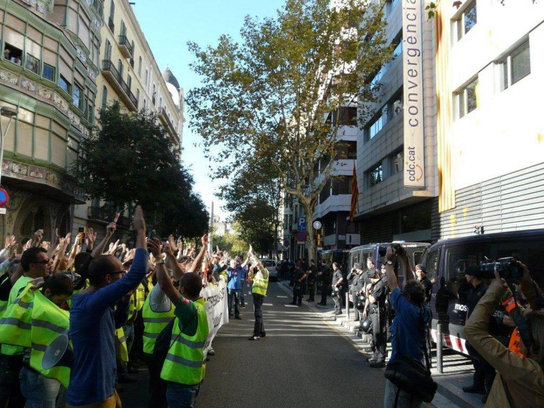 Barcelona. Éxito de la huelga de 24 horas en BSM