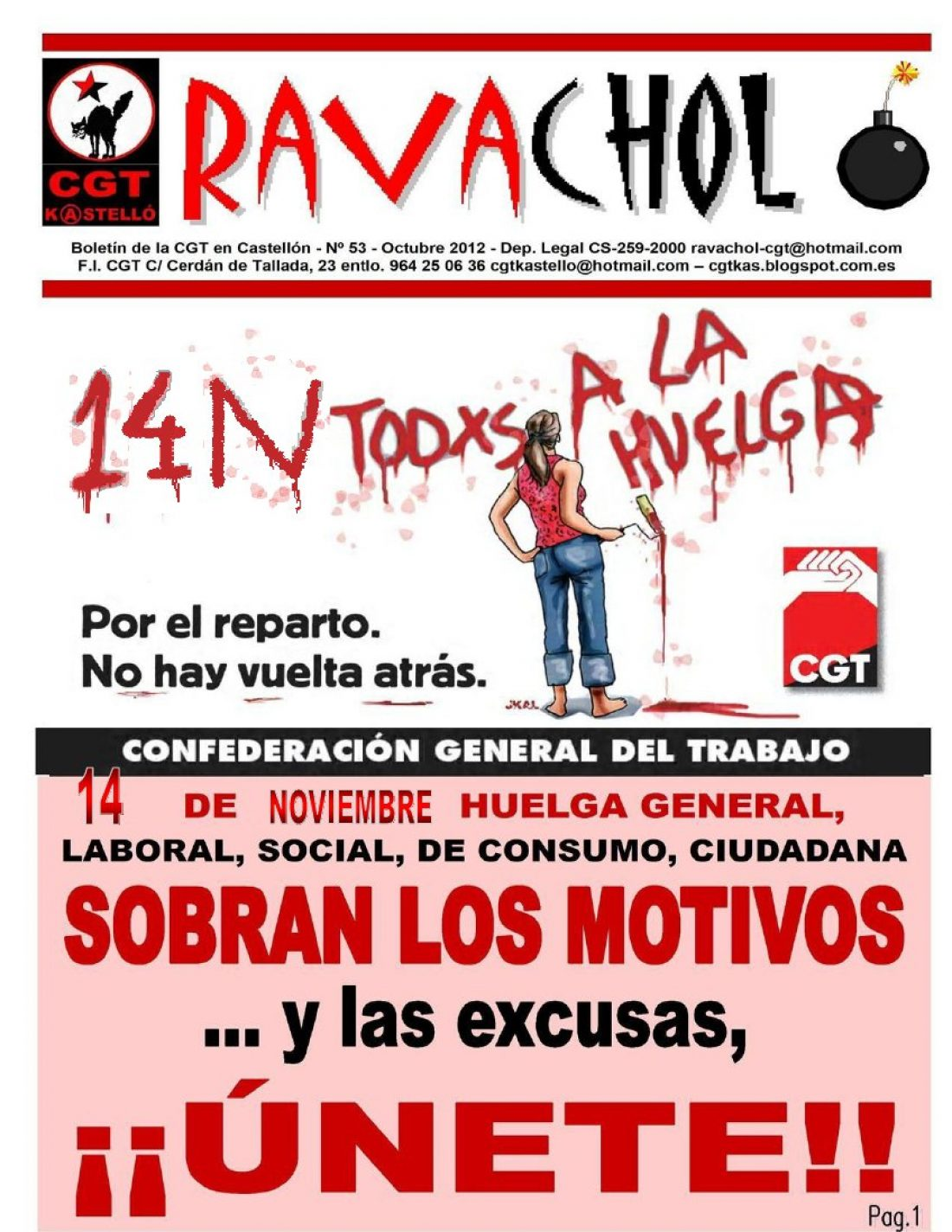 Ravachol núm. 53 – octubre 2012