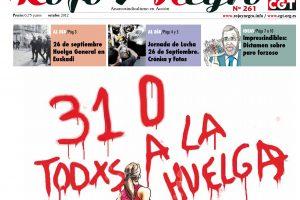 Rojo y Negro núm. 261 – Octubre 2012
