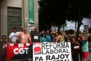 Finaliza la ocupación de la Delegación Provincial de Empleo en Málaga