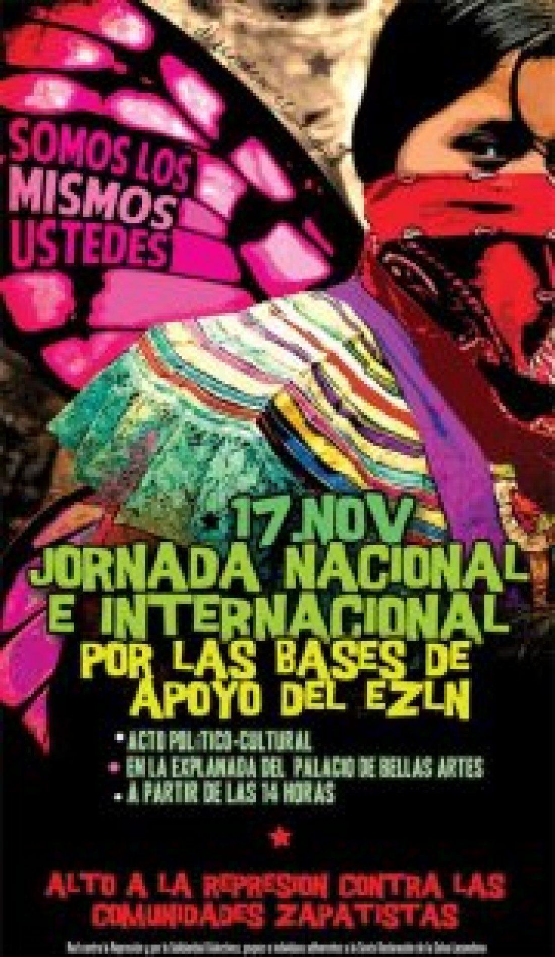 17-N: Jornada Nacional e Internacional sobre las Comunidades Zapatistas