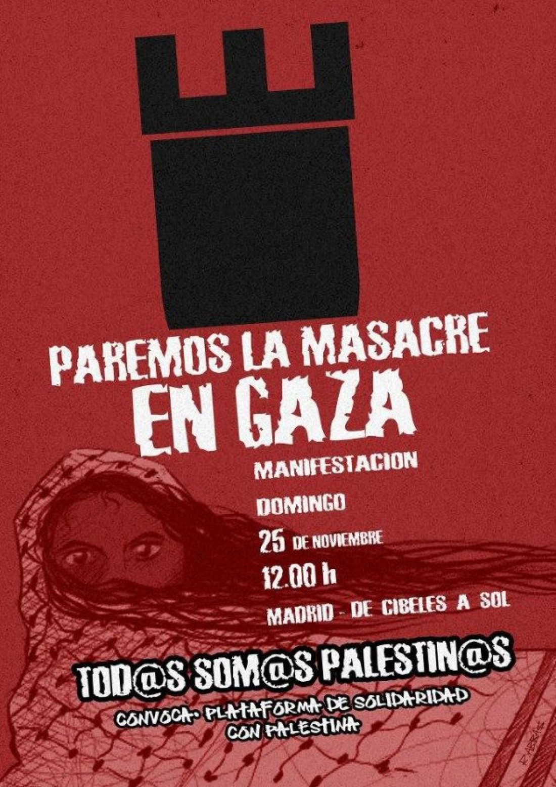 Paremos la masacre en Gaza