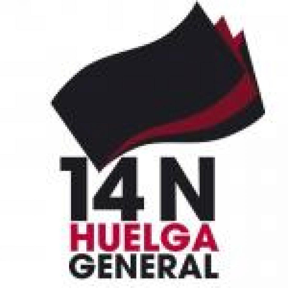 CGT no pacta los servicios mínimos para la Huelga General del 14 de Noviembre