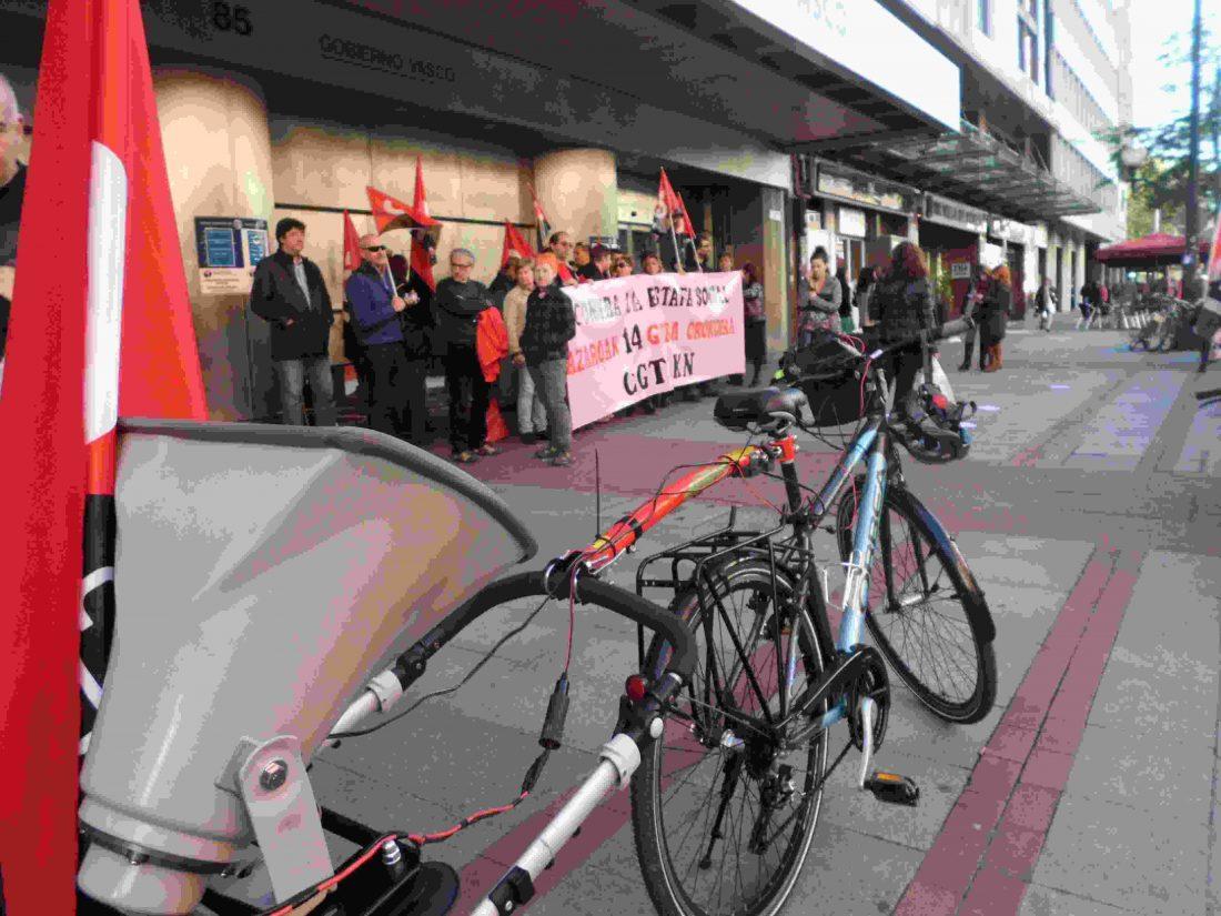 Biclcletada CGT Bizkaia 31-O