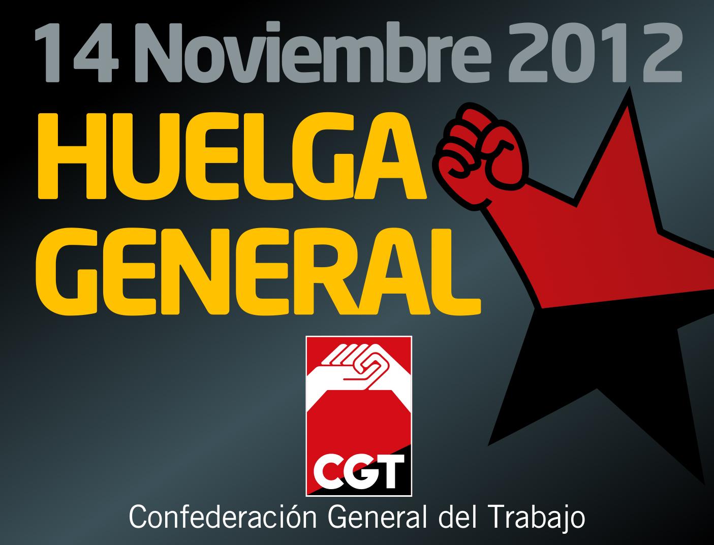 Huelga General 14 Noviembre 2012