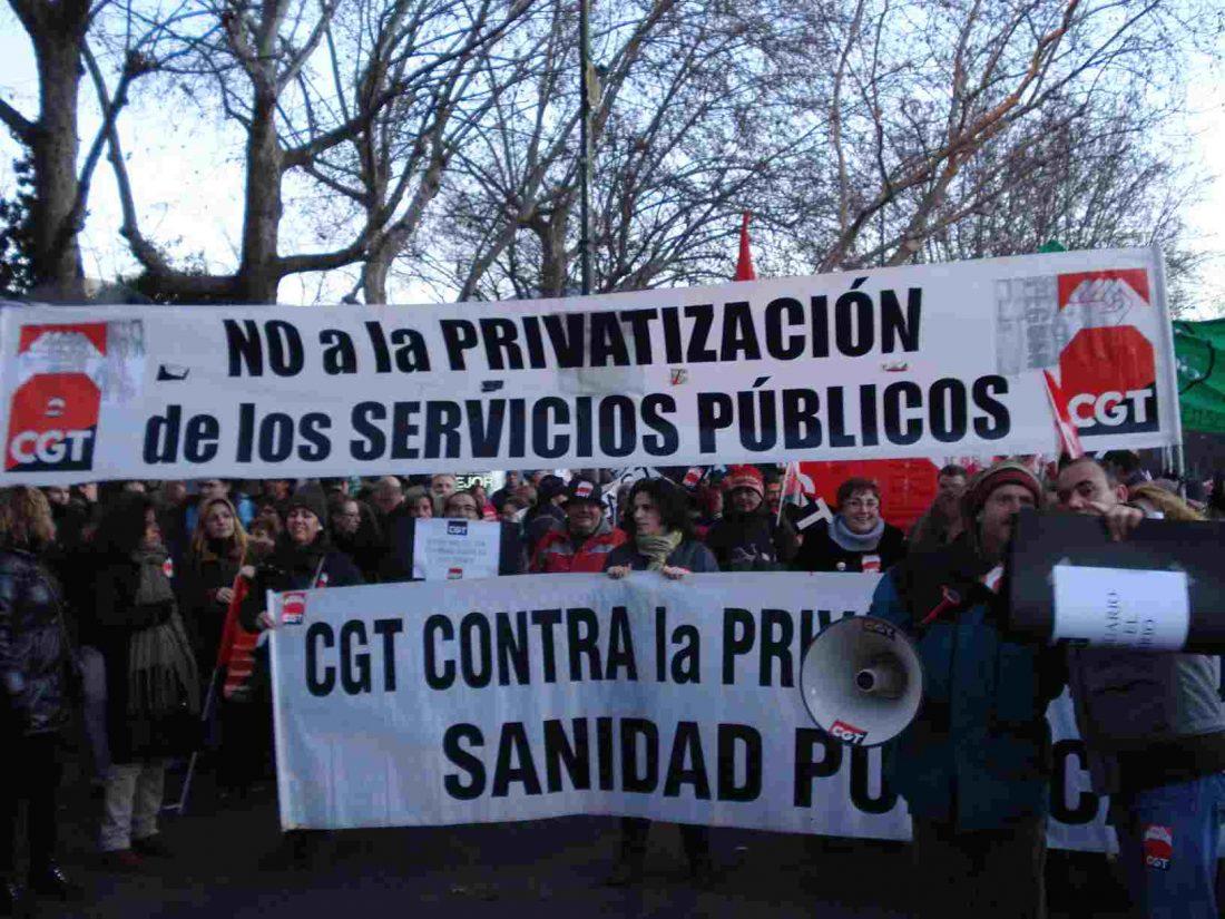 Movilizaciones en Sanidad. Comunicado del Sindicato de Sanidad de CGT Madrid