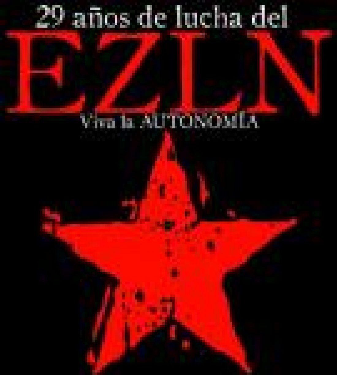 Pronunciamiento de la CGT a 29 años de la fundación del EZLN