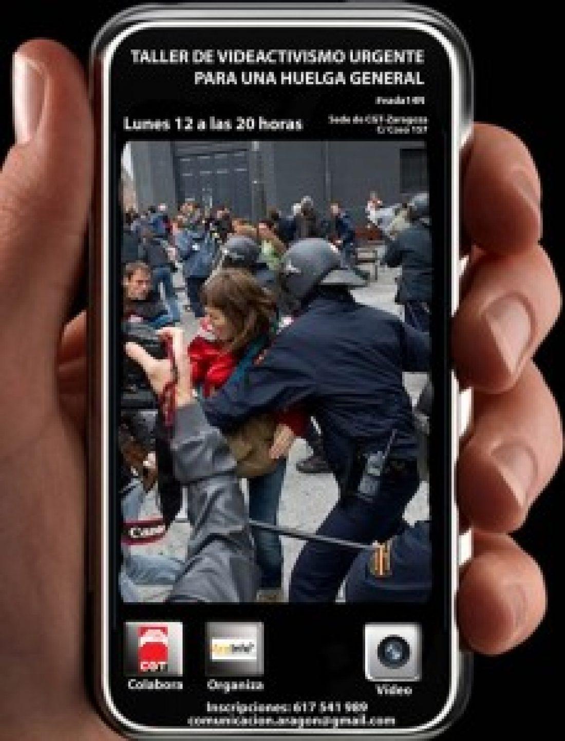 Taller de videoactivismo urgente para una Huelga General