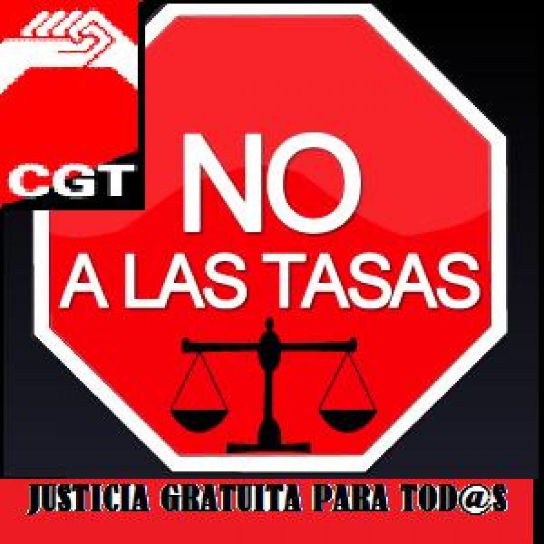 CGT Málaga convoca concentración contra la nueva ley de tasas judiciales