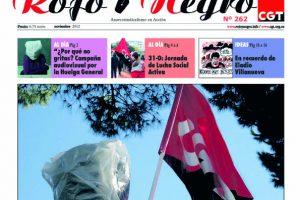 Rojo y Negro núm. 262 – noviembre 2012