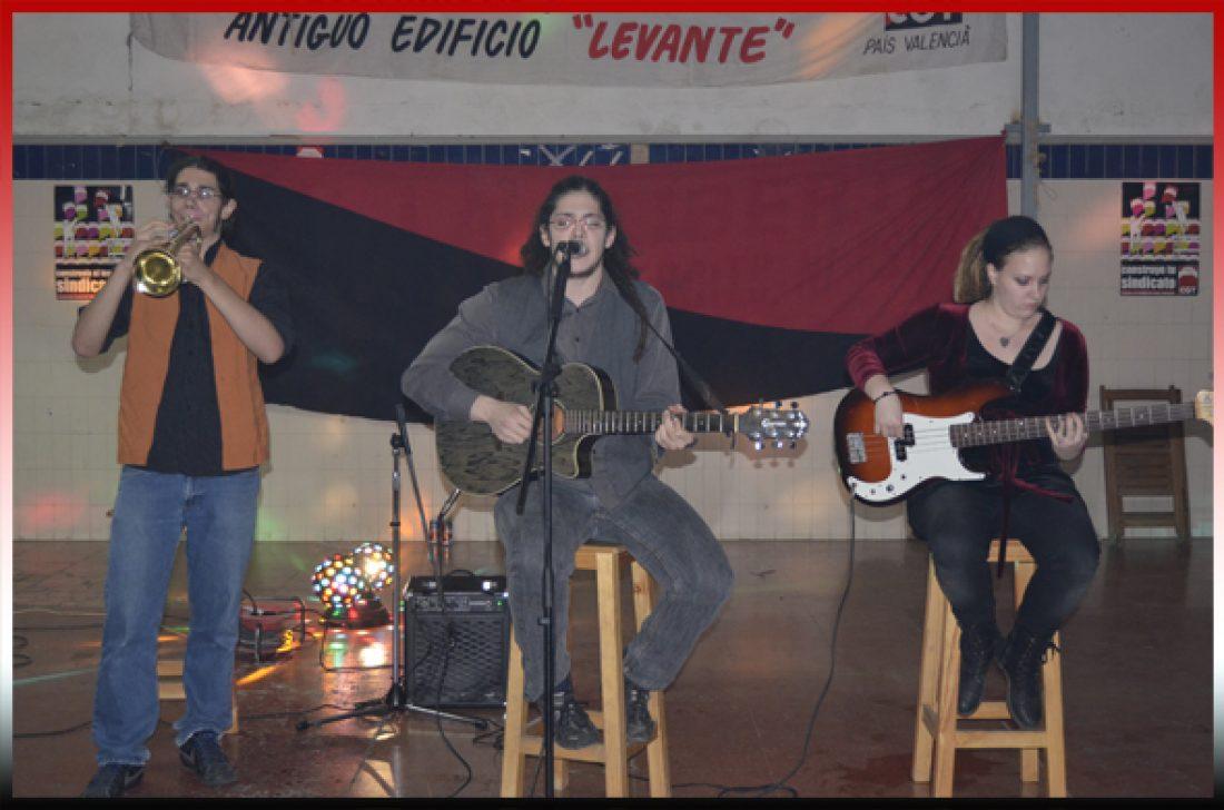 Valencia. Última charla de las Jornadas Libertarias y fiesta de clausura
