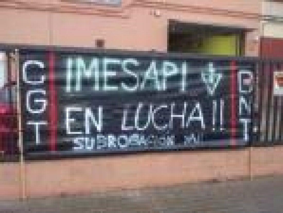 Huelga indefinida en IMESAPI. Alumbrado público de Barcelona