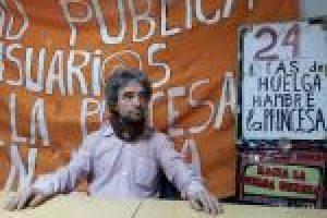 Juan lleva 24 días en Huelga de hambre por la Sanidad Pública