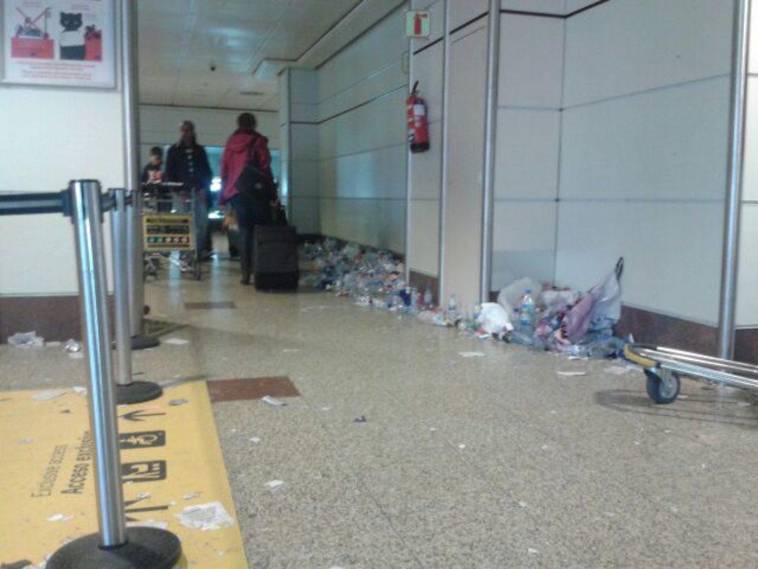 Comunicado de apoyo y solidaridad con los/las trabajadores/as de limpieza del aeropuerto de Barajas.