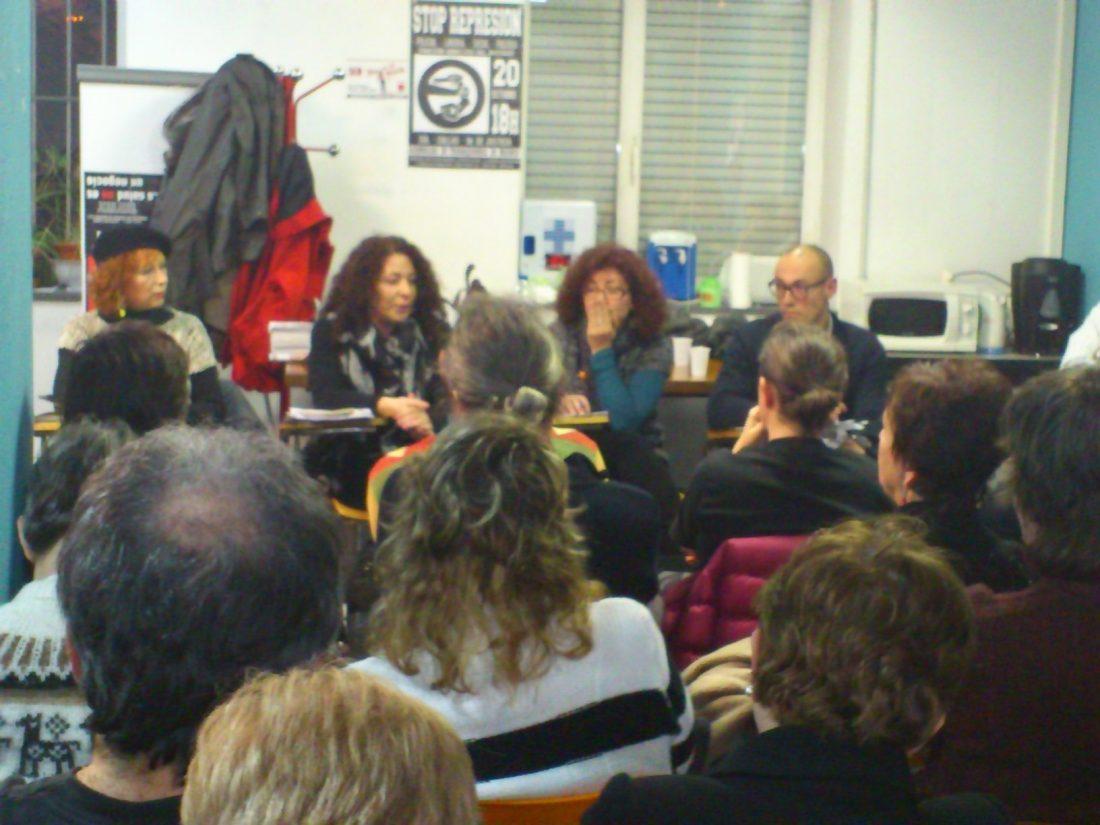 Ateneo La Idea (Madrid). Charla debate sobre la represión