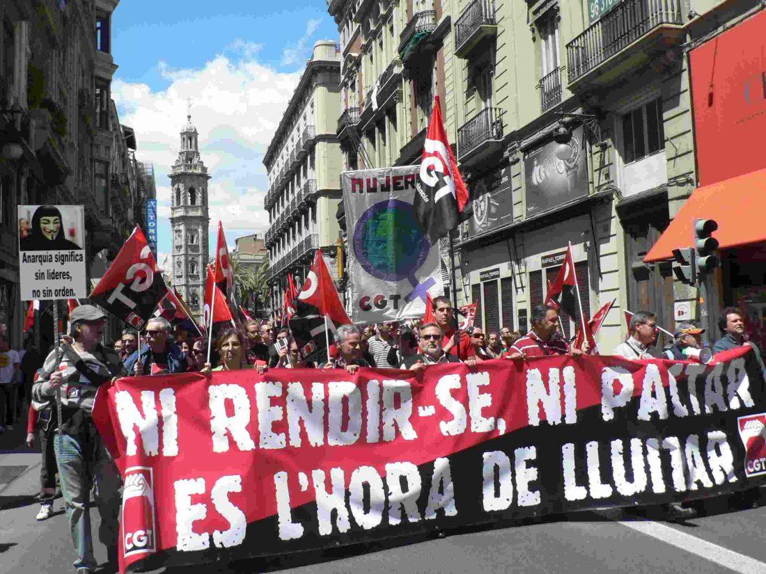 30-E València: Concentración «Contra el saqueo social de la Banca, Gobierno y Patronal