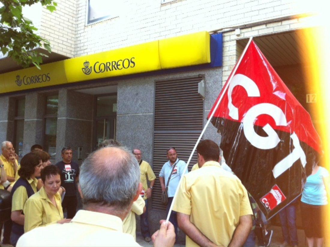Concentración de CGT-Correos este viernes en Alicante