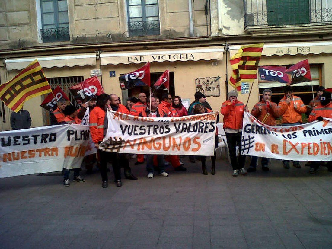 La lucha de lxs trabajadorxs de Aceros para la Construcción de l´Arboç (Tarragona).