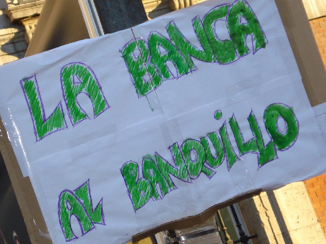 Contra el ERE salvaje de Bankia, movilizaciones en Málaga