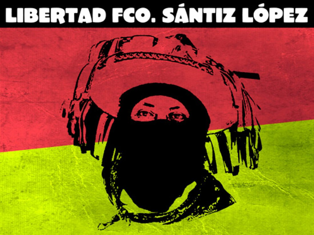 Francisco Sántiz López, base de apoyo del EZLN: !LIBRE!