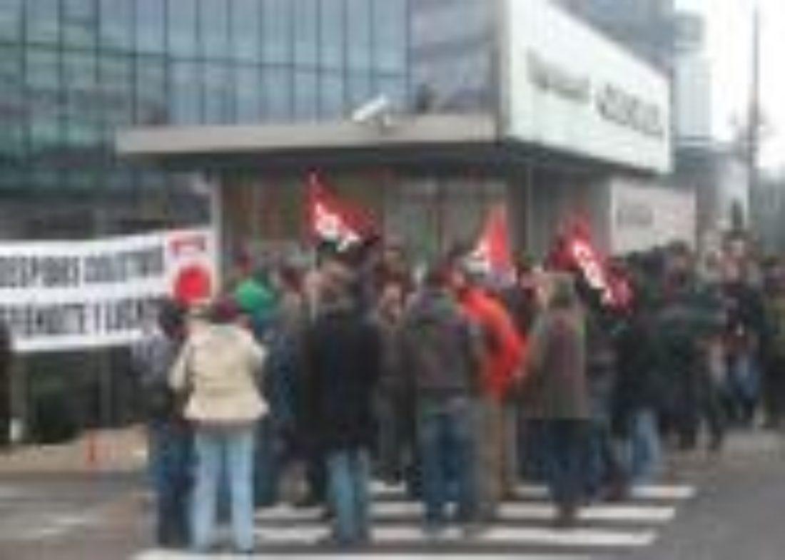 Masivo seguimiento en el primer día de la Huelga Indefinida de Alten
