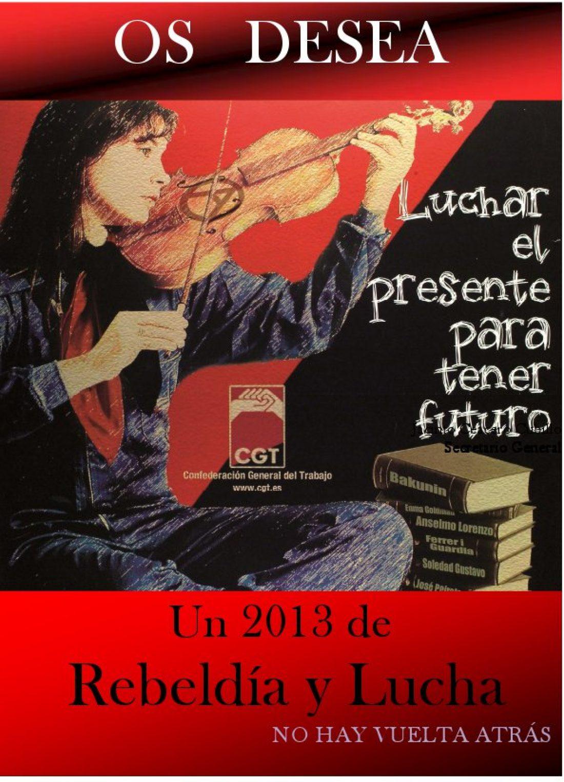 Nuestro particular concierto de año nuevo: Ánimo, Salud y Memoria, compañer@s