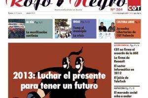 Rojo y Negro Nº 264 – enero 2013