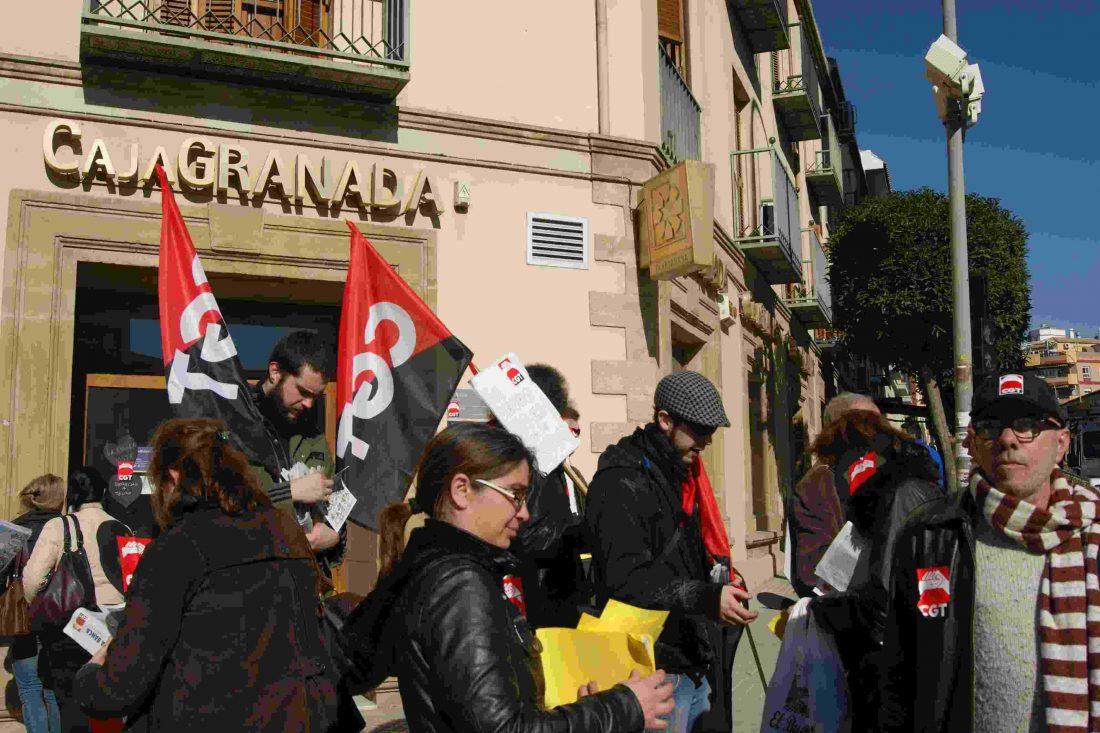 Fotos y crónica del 14 de Febrero Dia de lucha contra la banca en Úbeda