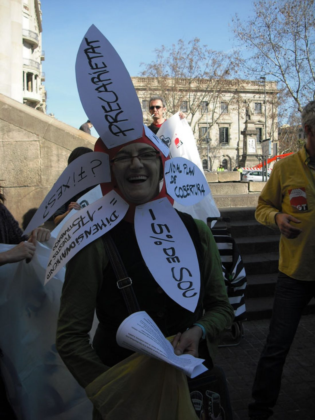 Barcelona. Huelga de 4 horas en Correos