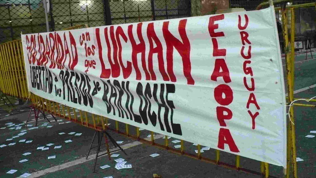 Solidaridad con los compañeros de Bariloche – Uruguay – ELAOPA
