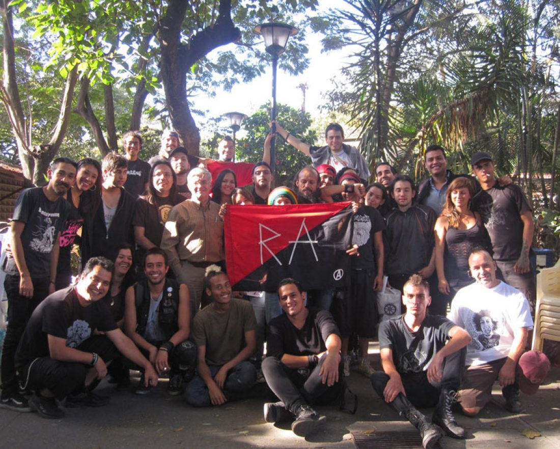 Realizado el Encuentro Anarquista Caracas 2013