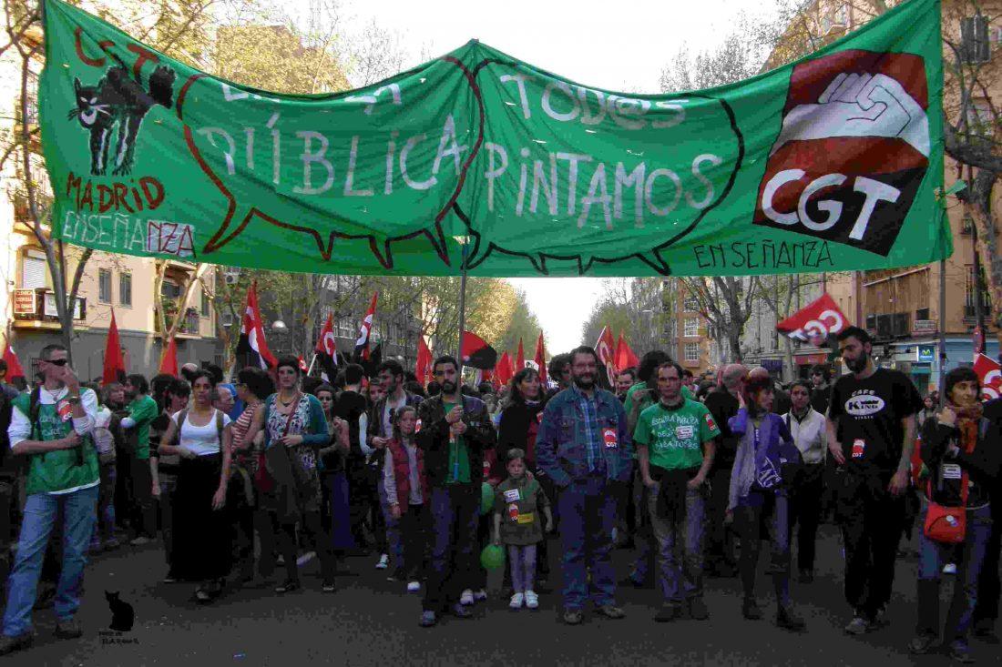 La lucha en la Universidad Politécnica de Madrid
