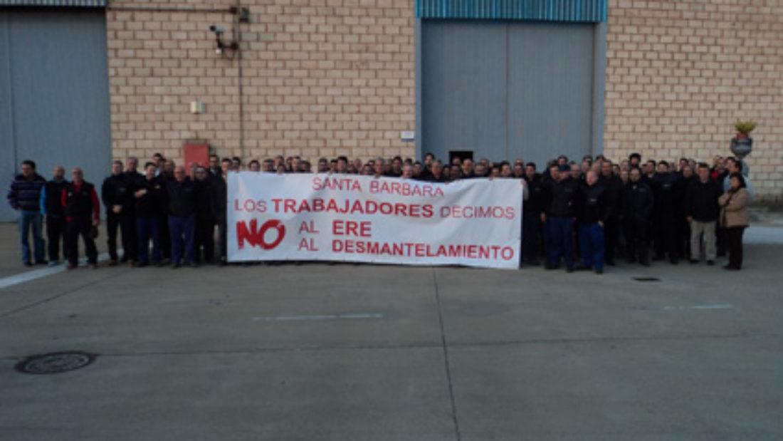 26 y 27 de febrero: Encierro en Santa Bárbara Sistemas en protesta contra el ERE