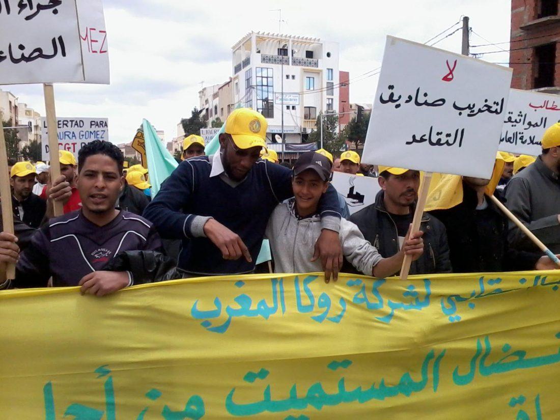 CGT con los parados del Norte de África ante la brutal represión del Gobierno argelino