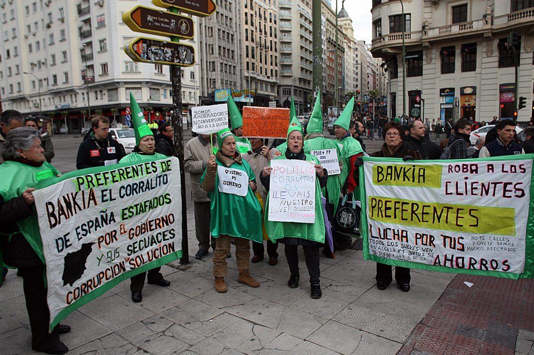 Miles de personas reclaman en Madrid una Europa de las personas