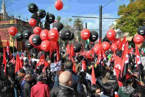 Manifestación 28-F Sevilla Bloque Crítico [video]