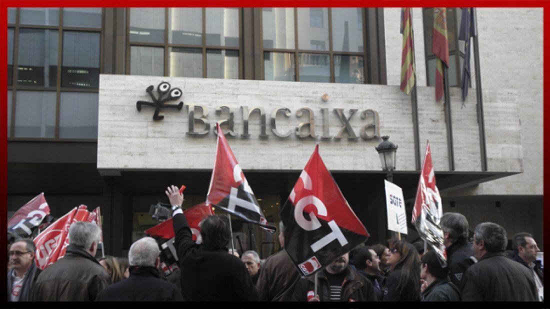 Comunicados CGT-Bankia: «Indignación y vergüenza» y «Las balas no son de fogueo»
