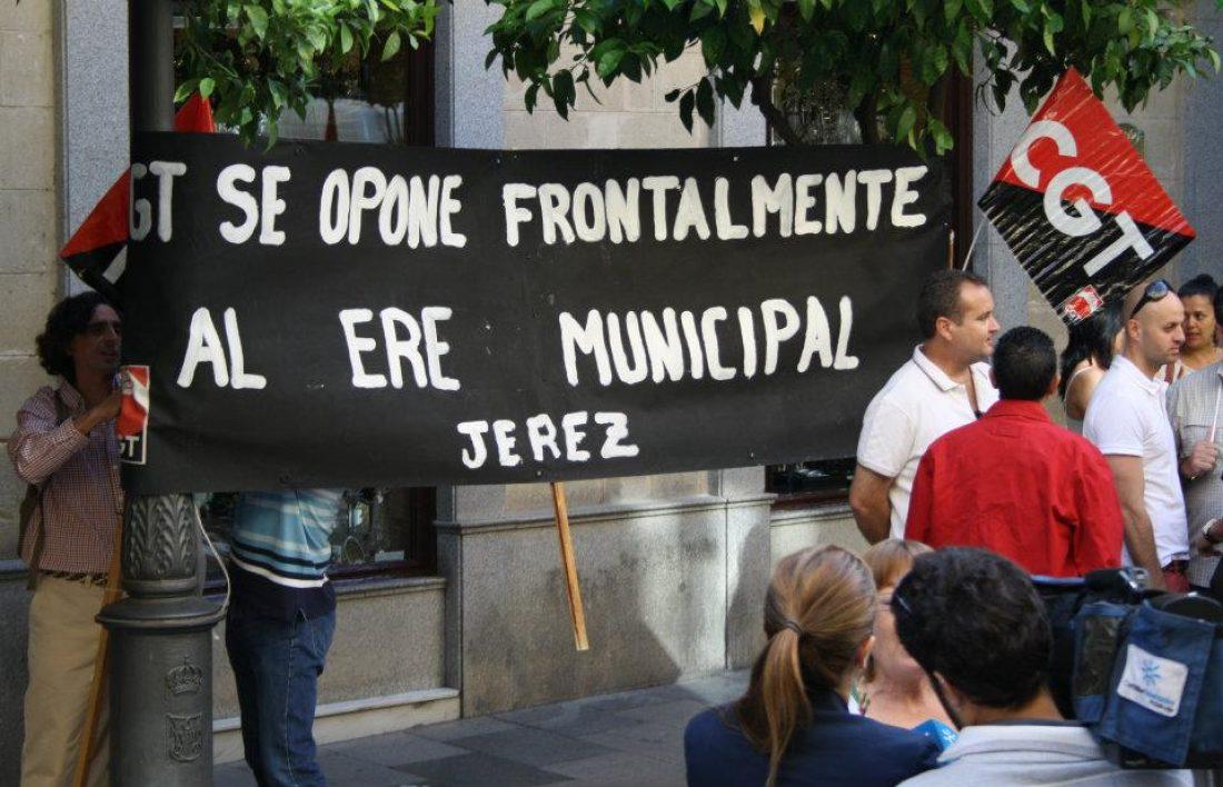 Lxs trabajadorxs ganan el ERE del Ayuntamiento de Jerez
