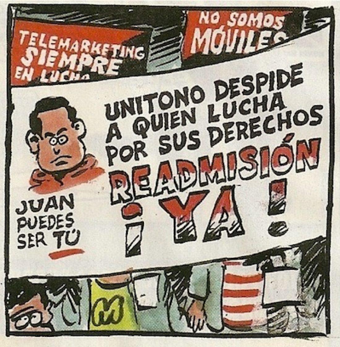 El compañero Juan Montaño gana su recurso y volverá a UNITONO