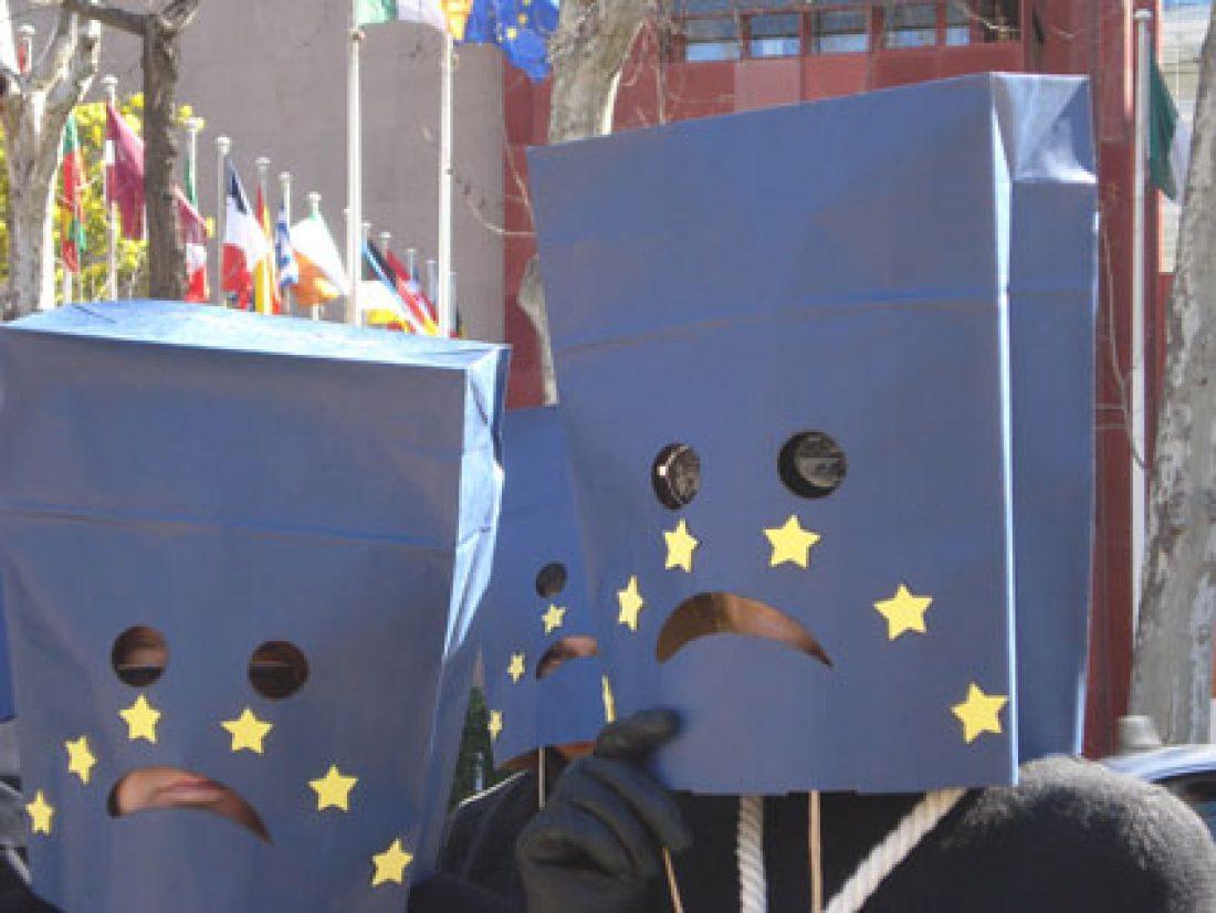 «Esta Europa nos ahoga y nos termina matando»