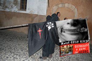 CGT Málaga visita el Hotel defraudador Coso Viejo