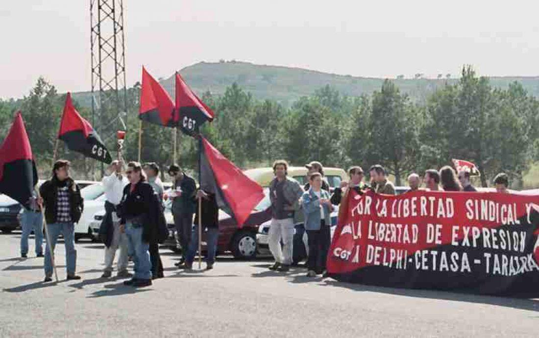 La CGT sigue exigiendo a la Junta de Andalucía el cumplimiento de los acuerdos firmados con los sindicatos en Delphi