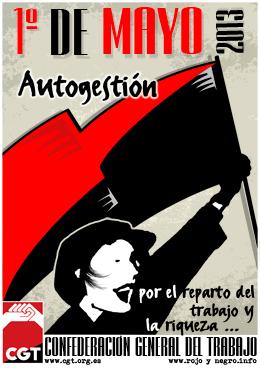 1 de mayo 2013. Autogestión. Actos y convocatorias