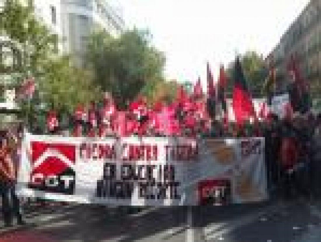 CGT apoya las movilizaciones en defensa de la Educación Pública